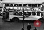 Image of streetcars Berlin Germany, 1932, second 30 stock footage video 65675041777
