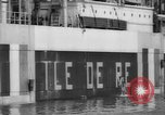 Image of Captain Lewis Thepaut Staten Island New York USA, 1941, second 21 stock footage video 65675041789