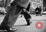 Image of Fifth Avenue New York City USA, 1950, second 25 stock footage video 65675041792