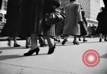 Image of Fifth Avenue New York City USA, 1950, second 29 stock footage video 65675041792
