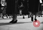 Image of Fifth Avenue New York City USA, 1950, second 31 stock footage video 65675041792