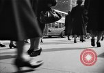 Image of Fifth Avenue New York City USA, 1950, second 32 stock footage video 65675041792
