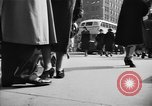 Image of Fifth Avenue New York City USA, 1950, second 39 stock footage video 65675041792