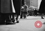 Image of Fifth Avenue New York City USA, 1950, second 40 stock footage video 65675041792
