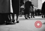 Image of Fifth Avenue New York City USA, 1950, second 41 stock footage video 65675041792