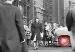 Image of Fifth Avenue New York City USA, 1950, second 52 stock footage video 65675041792
