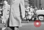Image of Fifth Avenue New York City USA, 1950, second 62 stock footage video 65675041792