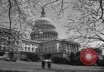 Image of Capitol Building Washington DC USA, 1950, second 15 stock footage video 65675041793