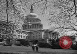 Image of Capitol Building Washington DC USA, 1950, second 18 stock footage video 65675041793