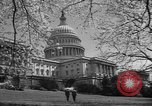 Image of Capitol Building Washington DC USA, 1950, second 19 stock footage video 65675041793