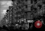 Image of Tenement area New York City USA, 1937, second 13 stock footage video 65675041801