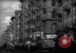 Image of Tenement area New York City USA, 1937, second 17 stock footage video 65675041801