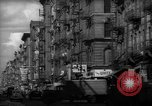 Image of Tenement area New York City USA, 1937, second 18 stock footage video 65675041801