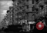 Image of Tenement area New York City USA, 1937, second 20 stock footage video 65675041801
