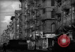 Image of Tenement area New York City USA, 1937, second 21 stock footage video 65675041801