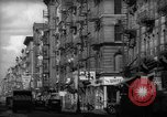 Image of Tenement area New York City USA, 1937, second 25 stock footage video 65675041801
