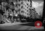 Image of Tenement area New York City USA, 1937, second 29 stock footage video 65675041801