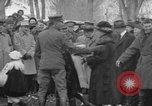 Image of Ferdinand Foch meets with Crow Native American Indians Montana United States USA, 1921, second 44 stock footage video 65675041803