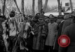 Image of Ferdinand Foch meets with Crow Native American Indians Montana United States USA, 1921, second 50 stock footage video 65675041803