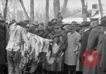 Image of Ferdinand Foch meets with Crow Native American Indians Montana United States USA, 1921, second 55 stock footage video 65675041803