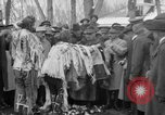 Image of Ferdinand Foch meets with Crow Native American Indians Montana United States USA, 1921, second 56 stock footage video 65675041803