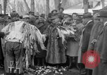 Image of Ferdinand Foch meets with Crow Native American Indians Montana United States USA, 1921, second 61 stock footage video 65675041803