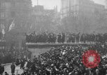Image of Armistice Day celebration Paris France, 1918, second 26 stock footage video 65675041812