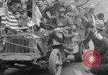 Image of Armistice Day celebration Paris France, 1918, second 41 stock footage video 65675041812