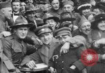 Image of Armistice Day celebration Paris France, 1918, second 59 stock footage video 65675041812