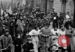 Image of Armistice Day celebration ending World War I Paris France, 1918, second 3 stock footage video 65675041813