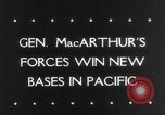 Image of General MacArthur Madang New Guinea Pacific Theater, 1943, second 31 stock footage video 65675041814