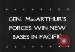 Image of General MacArthur Madang New Guinea Pacific Theater, 1943, second 32 stock footage video 65675041814