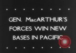 Image of General MacArthur Madang New Guinea Pacific Theater, 1943, second 36 stock footage video 65675041814