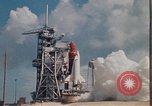 Image of Space Shuttle Atlantis Cape Canaveral Florida USA, 1985, second 26 stock footage video 65675041830