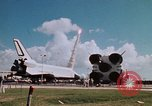 Image of Space Shuttle Atlantis Cape Canaveral Florida USA, 1985, second 32 stock footage video 65675041832