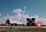 Image of Space Shuttle Atlantis Cape Canaveral Florida USA, 1985, second 37 stock footage video 65675041832