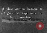 Image of The Aircraft Carriers USS Langley in Panama Canal and USS Saratoga bei Panama, 1925, second 1 stock footage video 65675041842