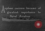 Image of The Aircraft Carriers USS Langley in Panama Canal and USS Saratoga bei Panama, 1925, second 4 stock footage video 65675041842