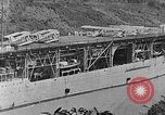 Image of The Aircraft Carriers USS Langley in Panama Canal and USS Saratoga bei Panama, 1925, second 17 stock footage video 65675041842