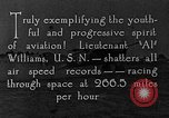 Image of Lieutenant Williams United States USA, 1925, second 8 stock footage video 65675041844
