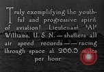 Image of Lieutenant Williams United States USA, 1925, second 11 stock footage video 65675041844