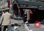 Image of New York City theaters and food New York City USA, 1956, second 4 stock footage video 65675041847