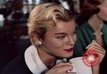 Image of New York City theaters and food New York City USA, 1956, second 35 stock footage video 65675041847