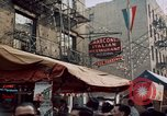 Image of Italian food New York City USA, 1956, second 20 stock footage video 65675041849