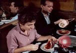 Image of Italian food New York City USA, 1956, second 50 stock footage video 65675041849