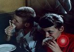Image of Italian food New York City USA, 1956, second 54 stock footage video 65675041849