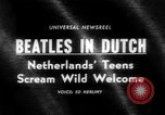 Image of Beatles Veilinghal Op Hoop Van Zegen Blokker Netherlands, 1964, second 1 stock footage video 65675041872