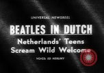 Image of Beatles Veilinghal Op Hoop Van Zegen Blokker Netherlands, 1964, second 2 stock footage video 65675041872