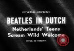 Image of Beatles Veilinghal Op Hoop Van Zegen Blokker Netherlands, 1964, second 3 stock footage video 65675041872