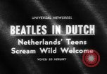Image of Beatles Veilinghal Op Hoop Van Zegen Blokker Netherlands, 1964, second 4 stock footage video 65675041872